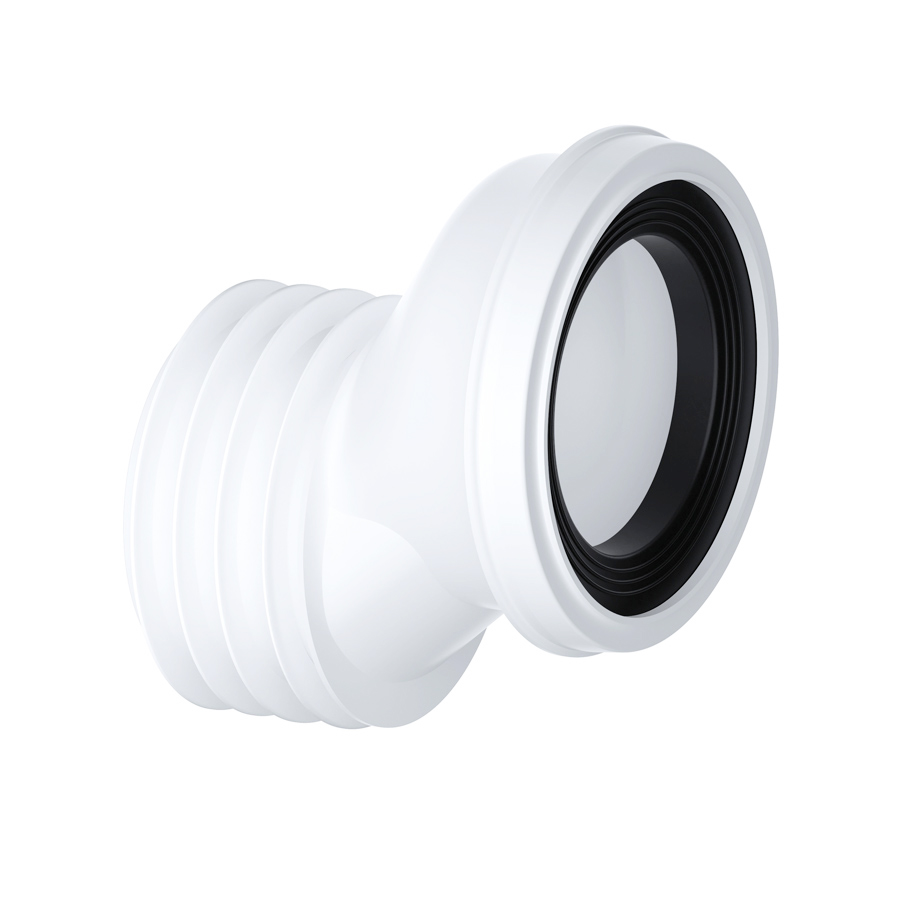 40mm Offset WC Pan Connector